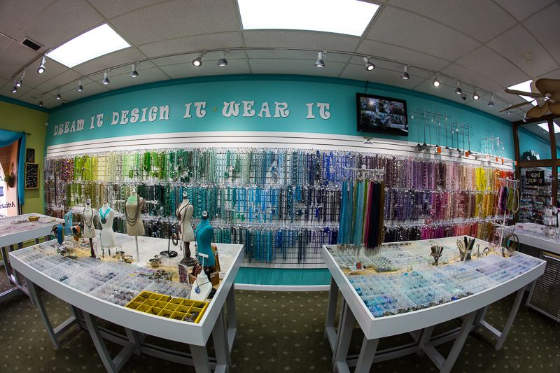 Dream it, Design it, Wear it. You can do it all here @ LH Bead Gallery   The area's largest bead store, Panama City, FL
