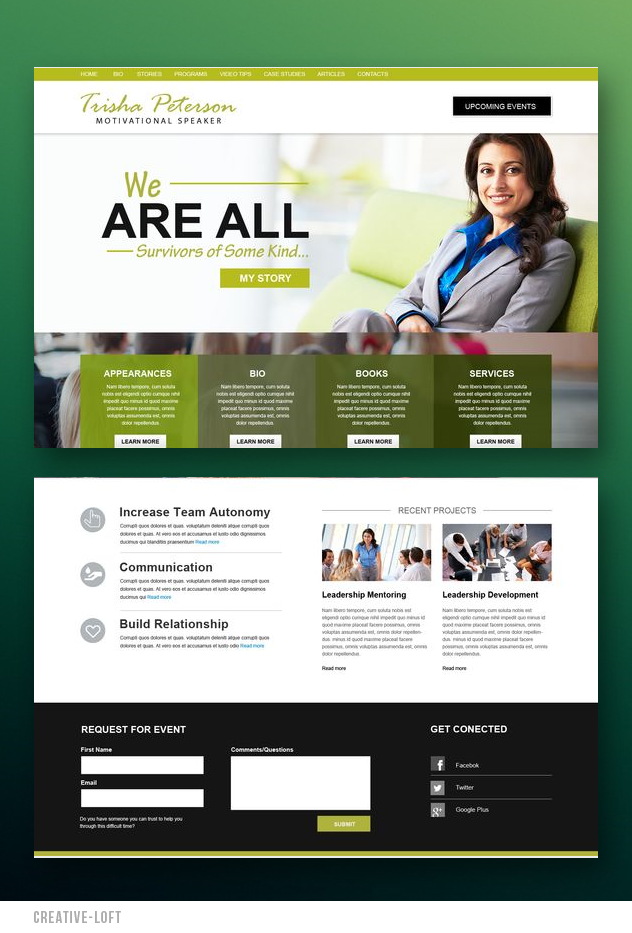 Mobile Friendly Website Design Website Concept Website Inspiration Stunning Website Be Beautiful Website Design Website Template Design Website Inspiration