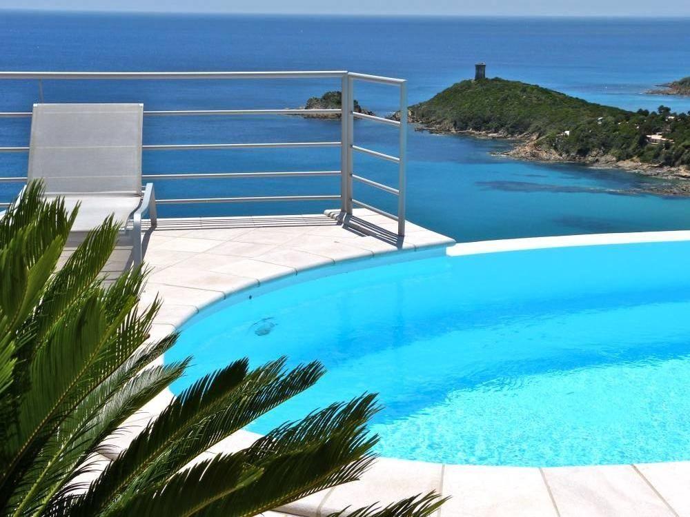Abritel location corse villa de standing vue mer - Location maison piscine porto vecchio ...