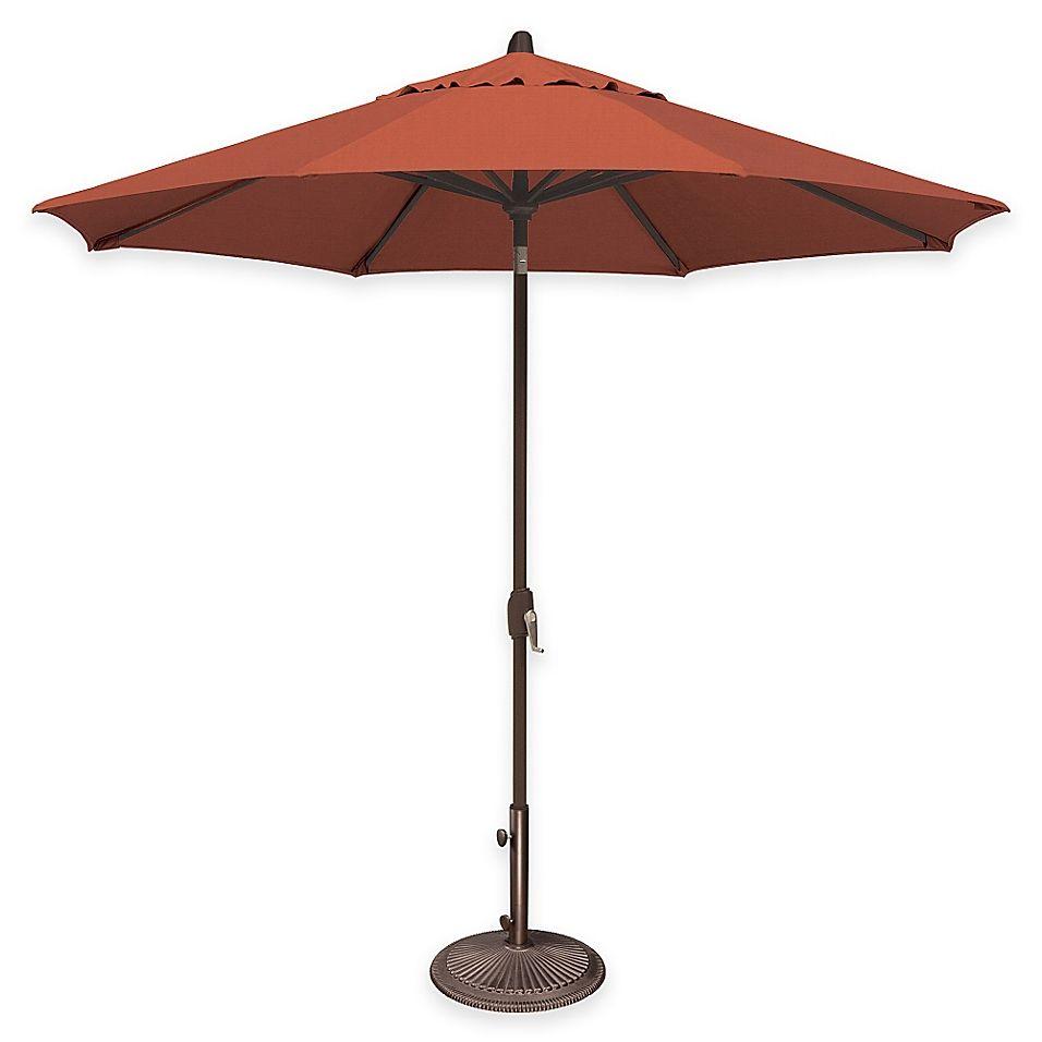 Simplyshade Lanai 9' Octagon AutoTilt Market Umbrella In