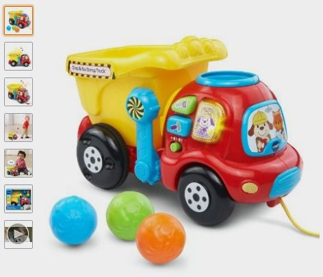 VTech Drop and Go Dump Truck: Toys & Games - Amazon Kids http://fave.co/2caEJ6H