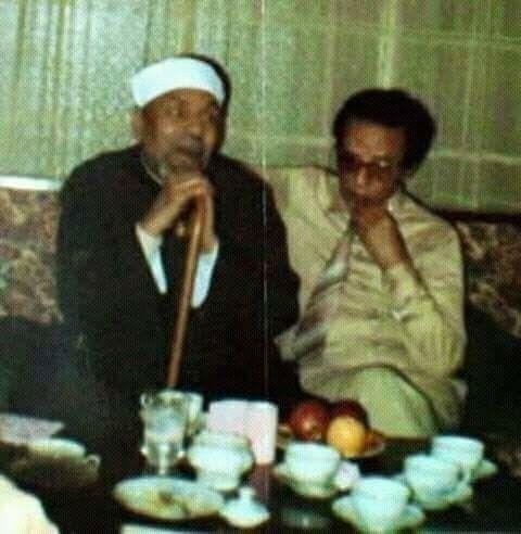 Metwali El Sharawi & Dr. Moustafa Mahmoud