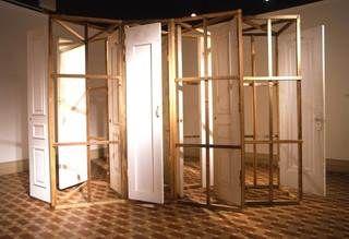 Gordon Matta Clark Open House Reciprocal Passage 2008. Portes bois. & Gordon Matta Clark Open House Reciprocal Passage 2008. Portes ...