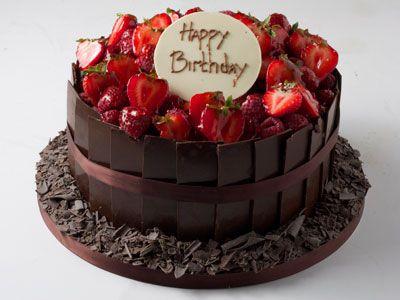 white chocolate cigarello birthday cake | chocolate ...