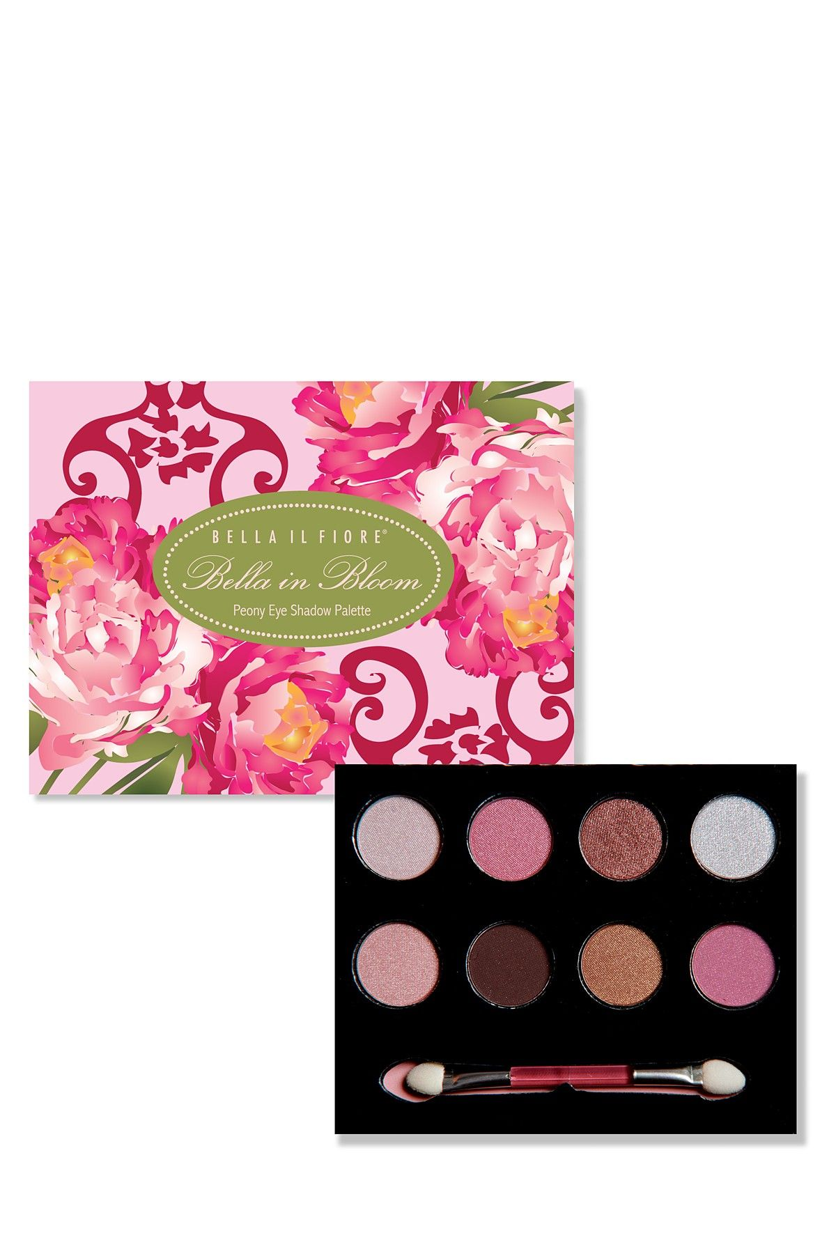 Bella Il Fiore Peony Eye Shadow Palette Pink Color