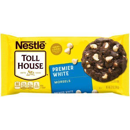 Nestle Toll House Premier White Morsels 12 Oz Bag Fudge Recipes