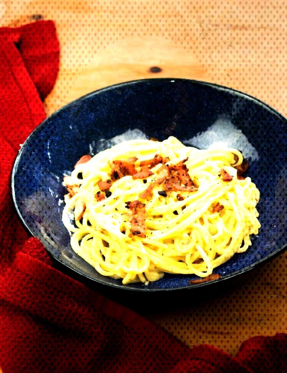 Syn Free Creamy Cheese & Bacon Pasta -