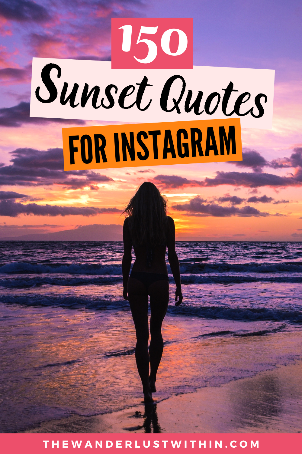 150 Perfect Sunset Captions For Instagram 2020 The Wanderlust Within In 2020 Sunset Captions For Instagram Sunset Captions Sunset Quotes Instagram
