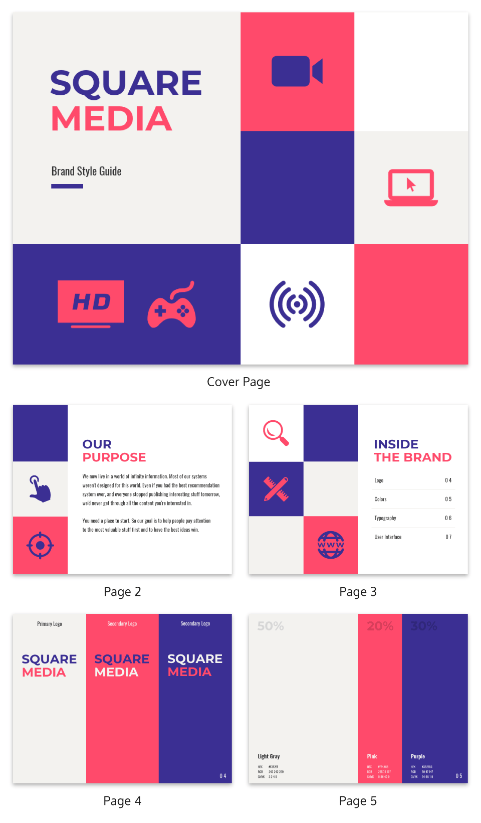 65 Brand Guidelines Templates Examples Tips For