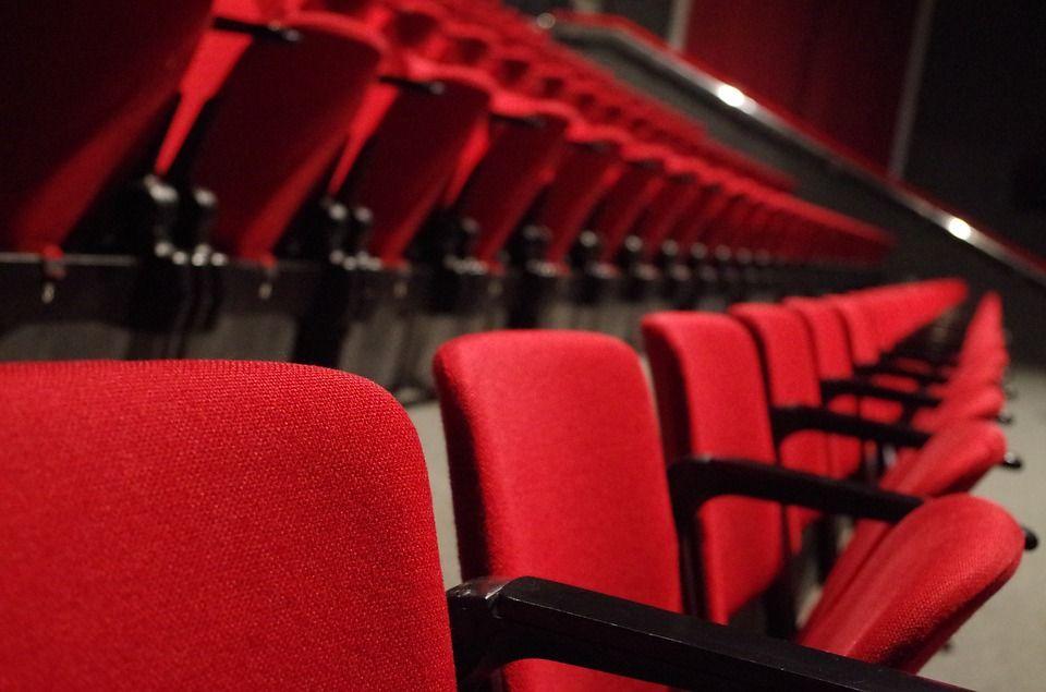 Theatre, Seats, Red, Culture