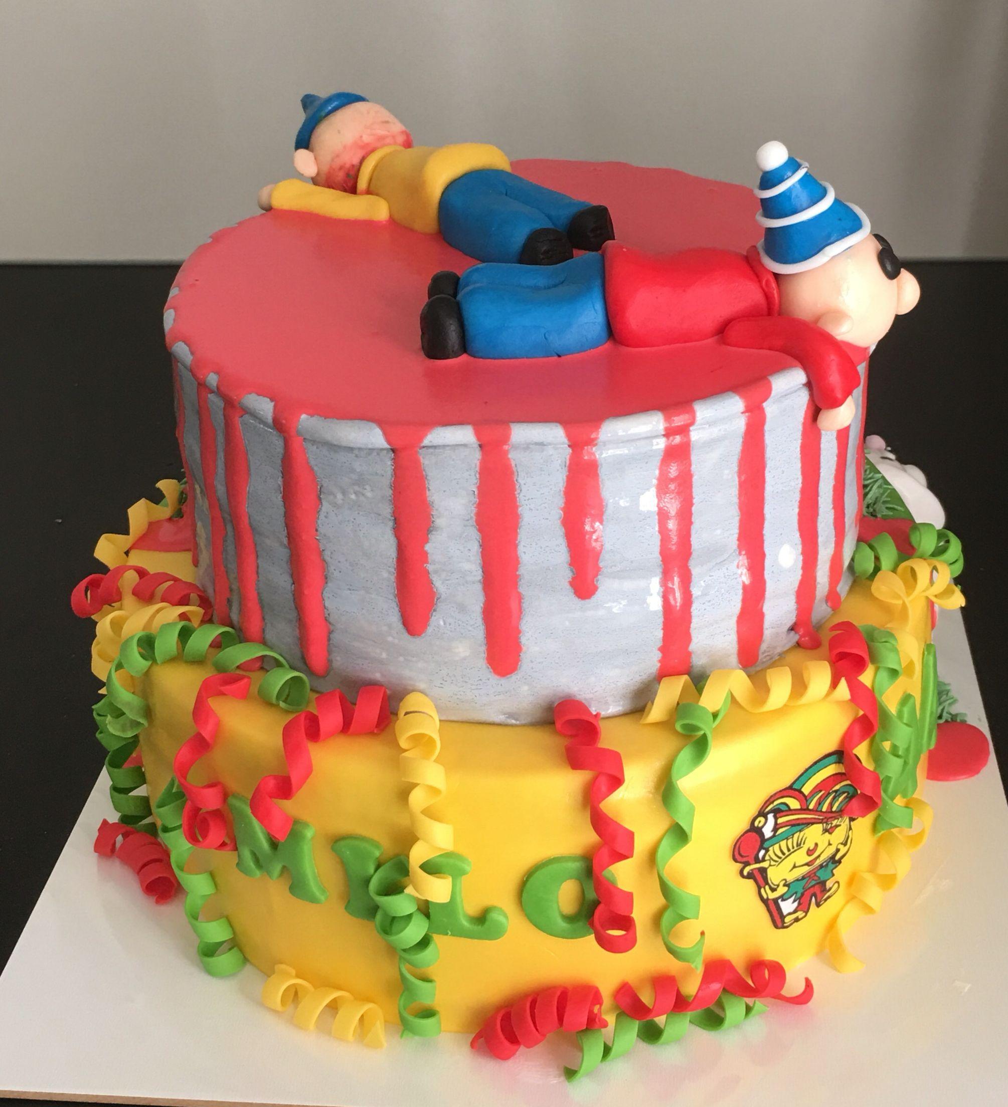 Fantasie taart deel 1, juli 2016