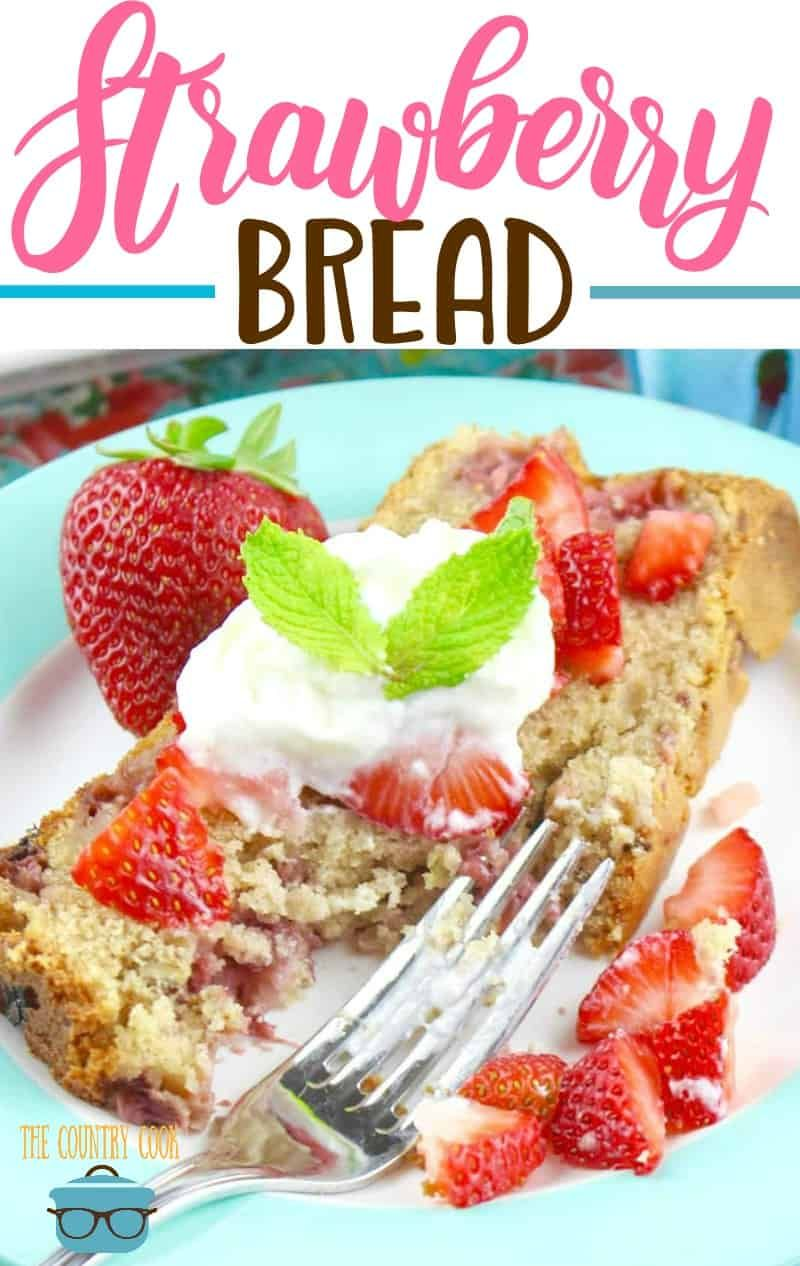 Strawberry Bread | Recipe | YUMMY | Strawberry bread ...