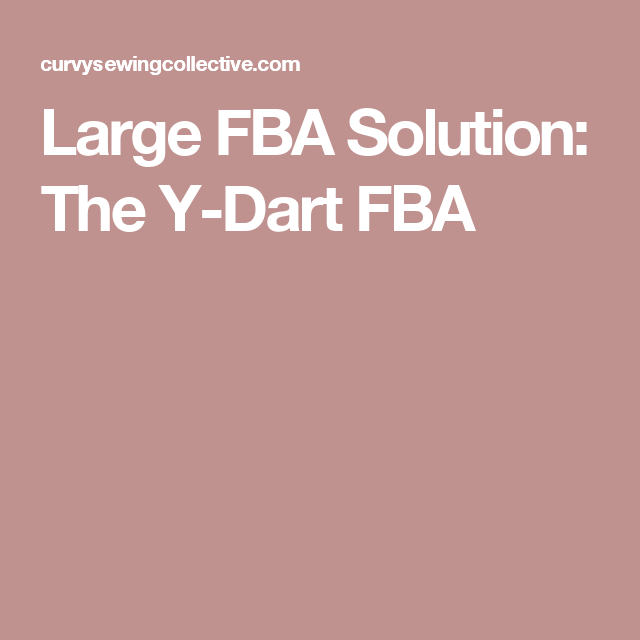 Large FBA Solution: The Y-Dart FBA