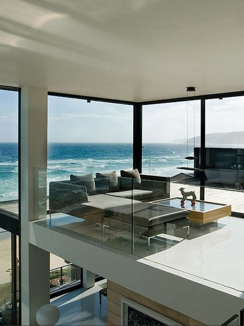 beautiful open concept with amazing ocean views