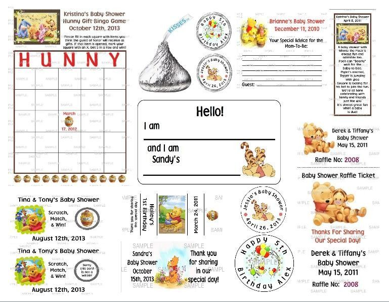Fill In The Blank Winnie The Pooh Baby Shower Invitations Google
