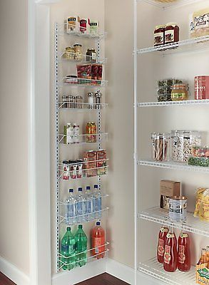 Details about Door Spice Rack Cabinet Organizer Wall Mount ...