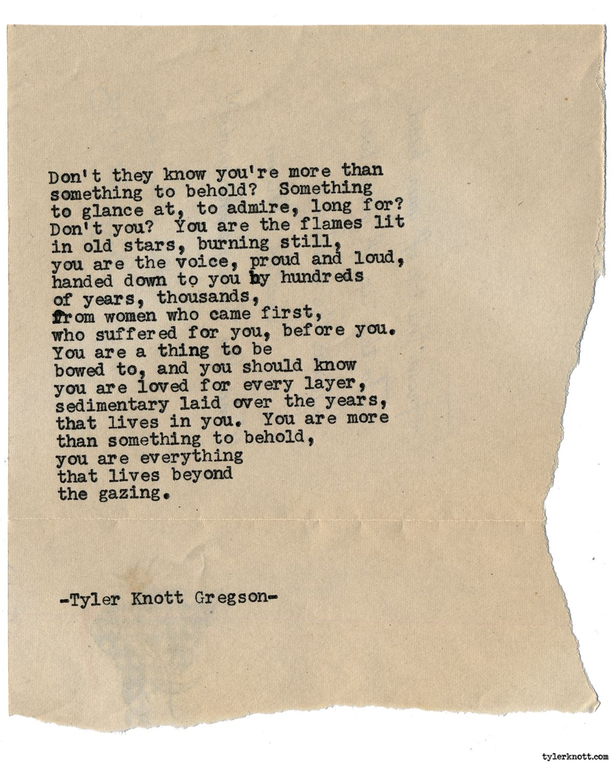 Typewriter Series 1578 By Tyler Knott Gregson Chasers Of The Light All The Words Are Yours Are Out Now With Images Tyler Knott Gregson