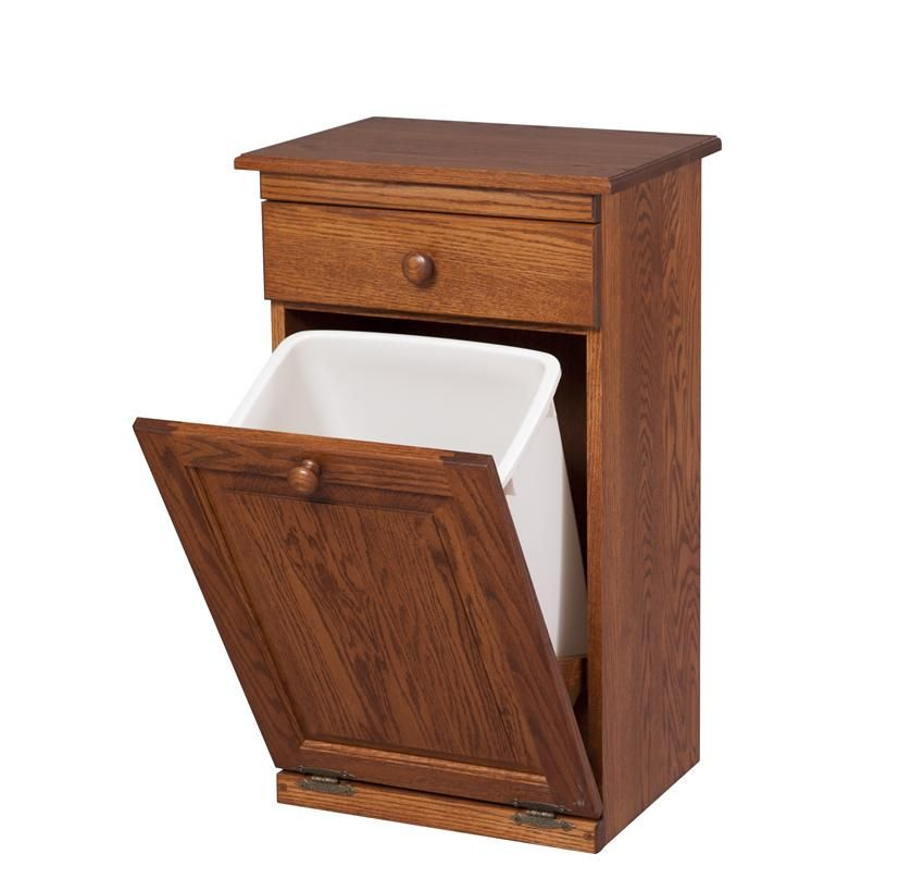 amish trash can cabinet with drawer maisoncajun in 2018 trash rh pinterest co uk Amish Wooden Kitchen Trash Cans Cabinet Trash Containers
