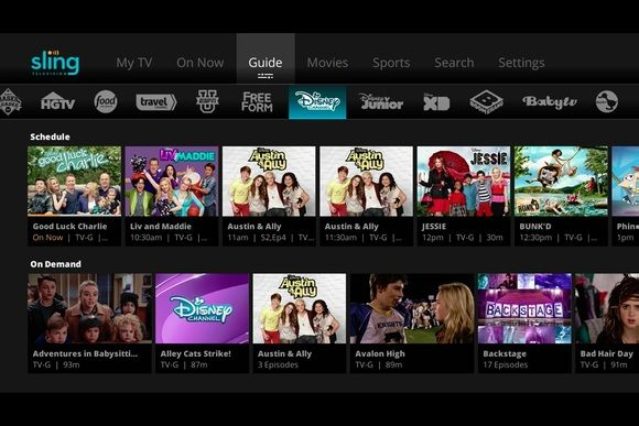 Sling TV channel guide All the programming, and all the
