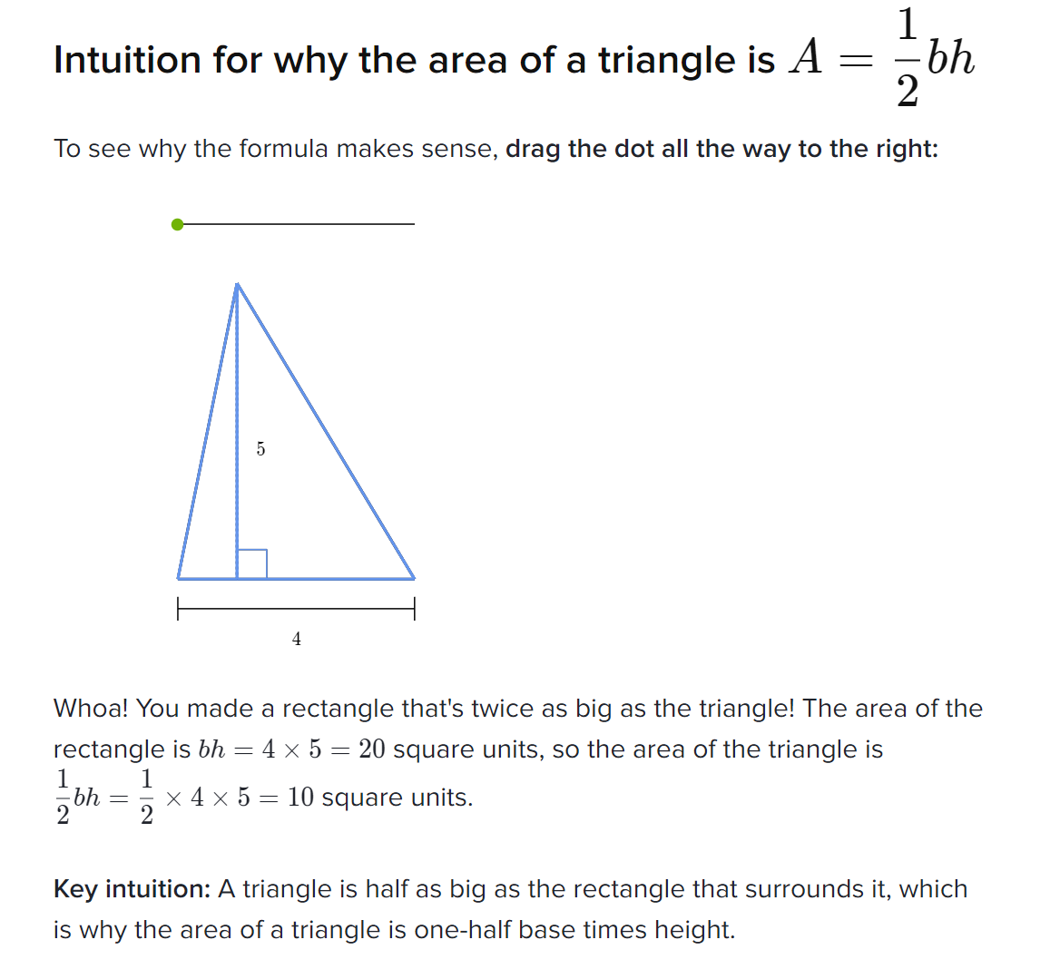 Practice Questions For Finding The Area Of A Triangle