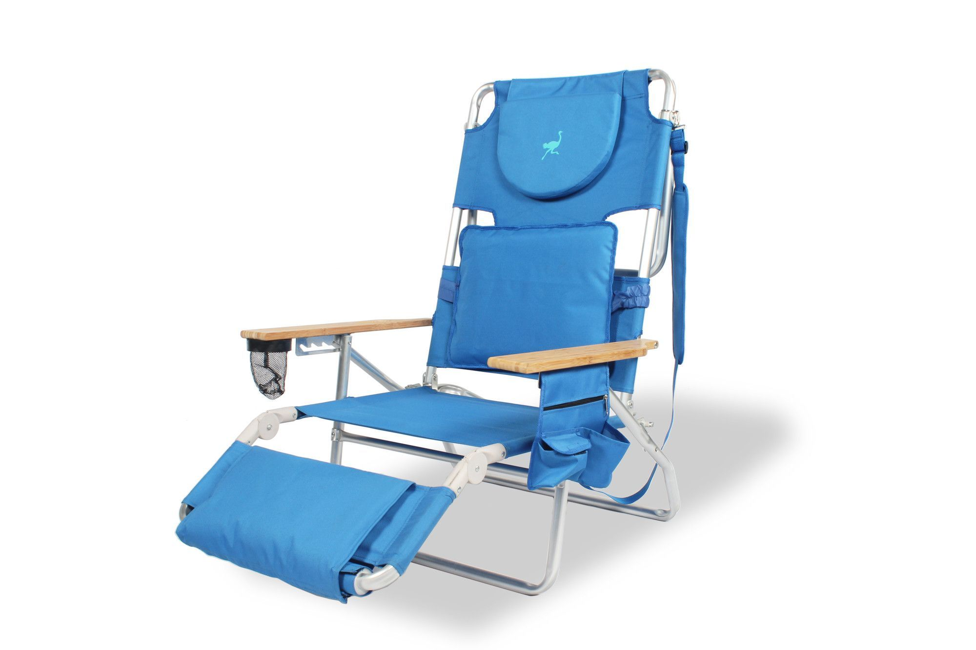 Padded Deluxe Beach Chair, by Ostrich Chair AllModern