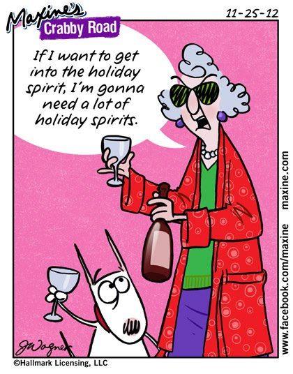 Maxine christmas comics and jokes