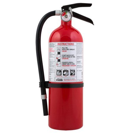 Kidde Full Home Fire Extinguisher, 3-A,40-B:C - Walmart.com