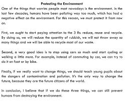 Resultado De Imagen Para Essay B2 Examples On Protecting Environment