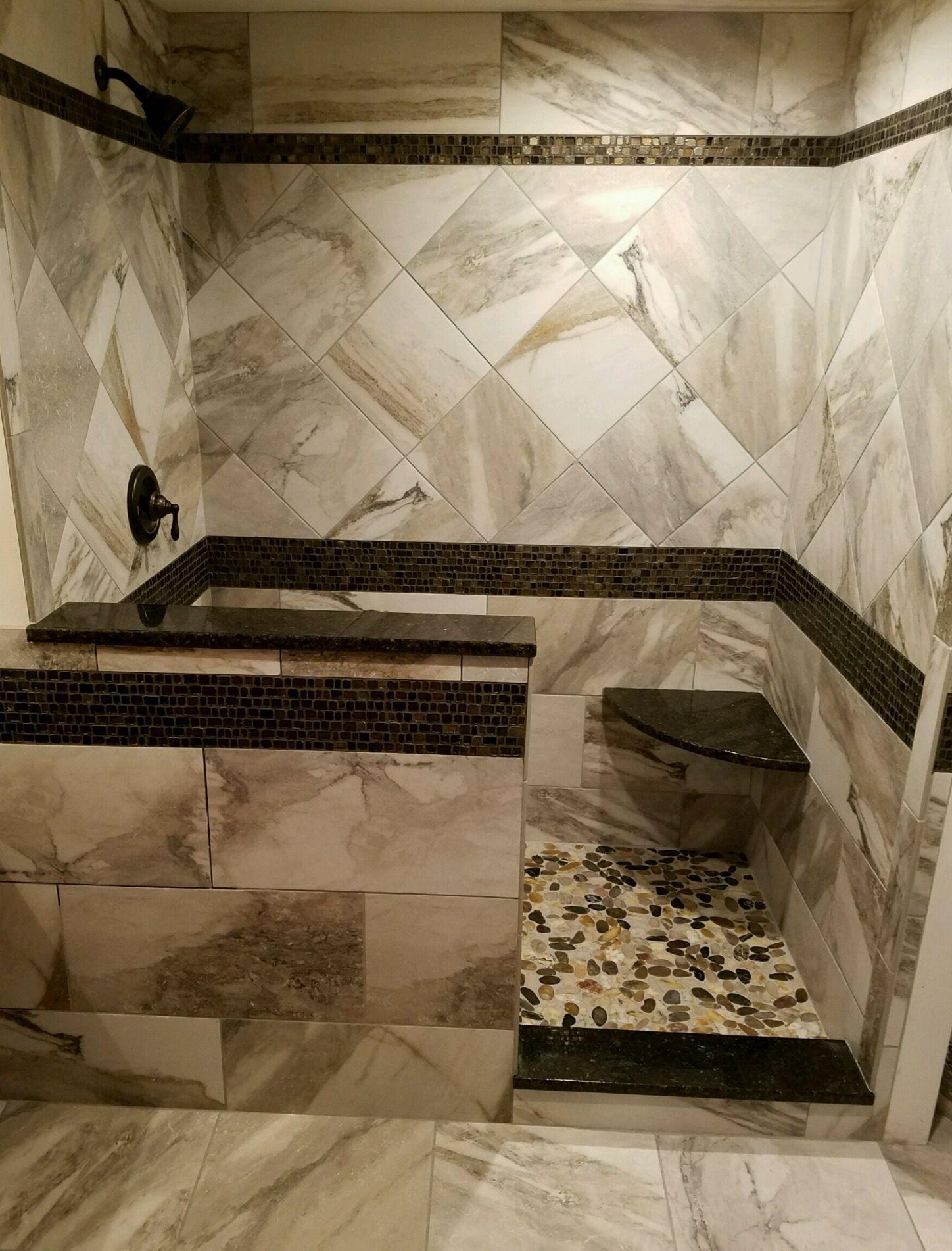 North Hills Flooring Ege Crown Grey 18x18 Ceramic Tile