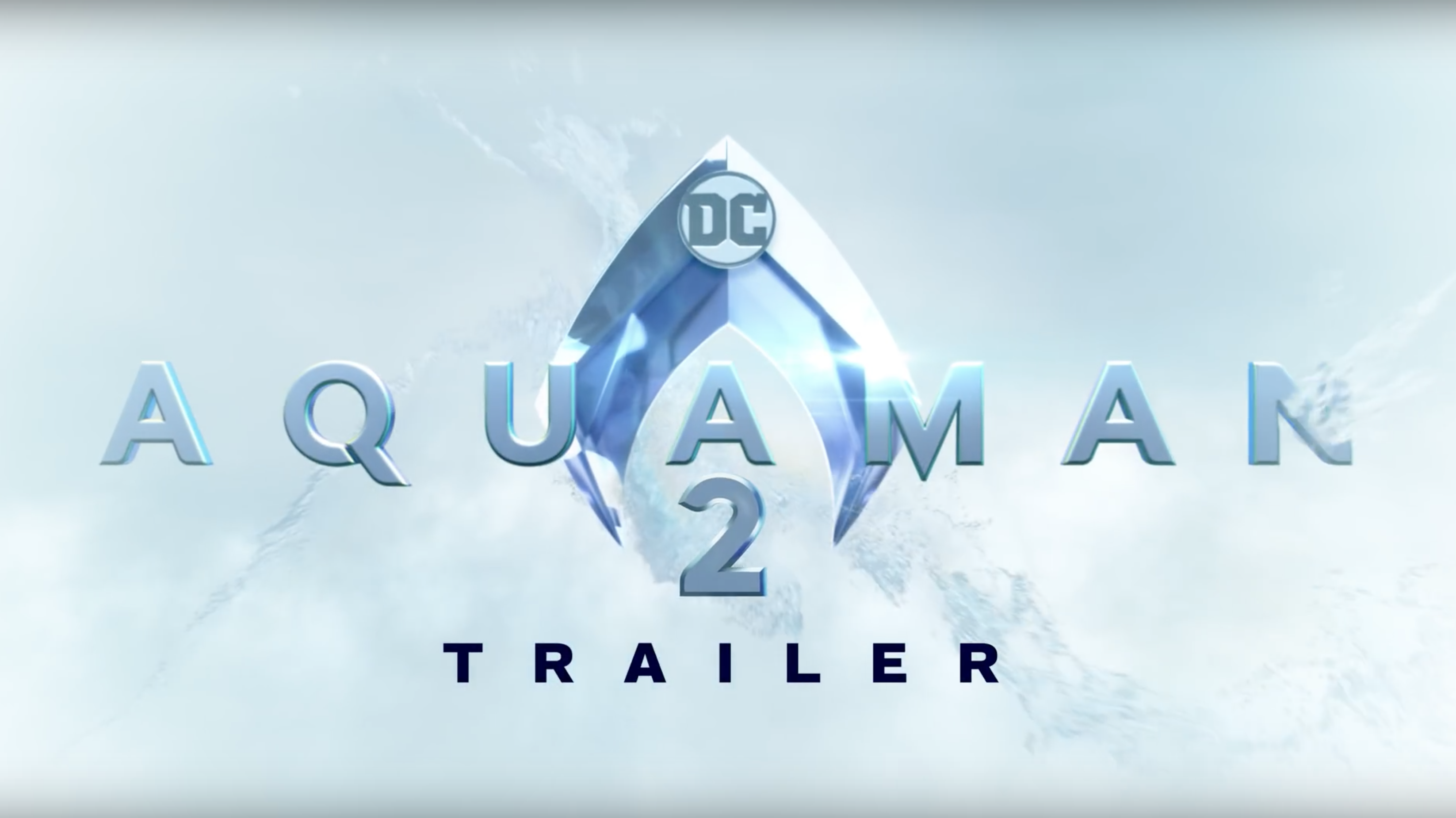 Warner Bros Releases An Aquaman 2 Trailer Or Do They Aquaman Aquaman Logo Aquaman 2018
