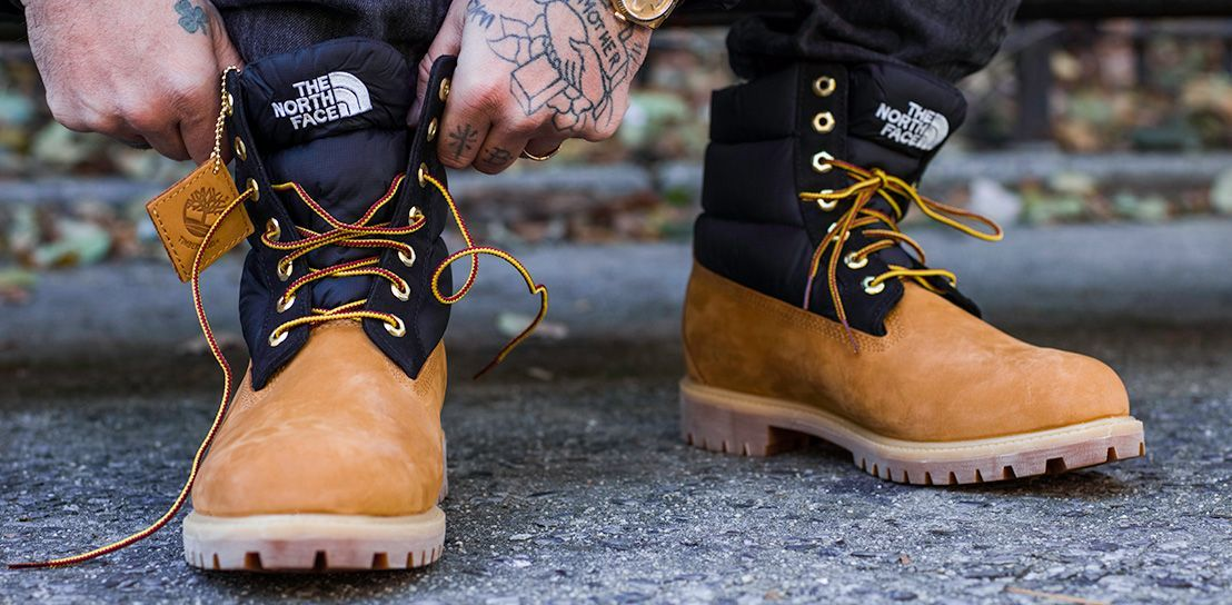 8e0cda4808e Timberland X The North Face Collaboration Timberland Classic