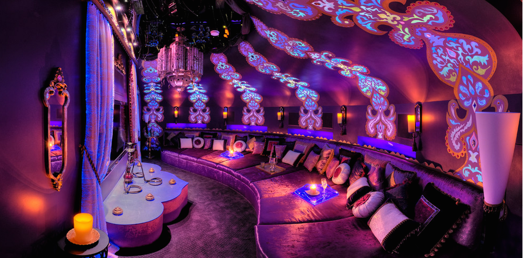 Trippy room decor ideas amazing design - Morrocon Room Eclectic Media Room Cleveland By Amazing Design