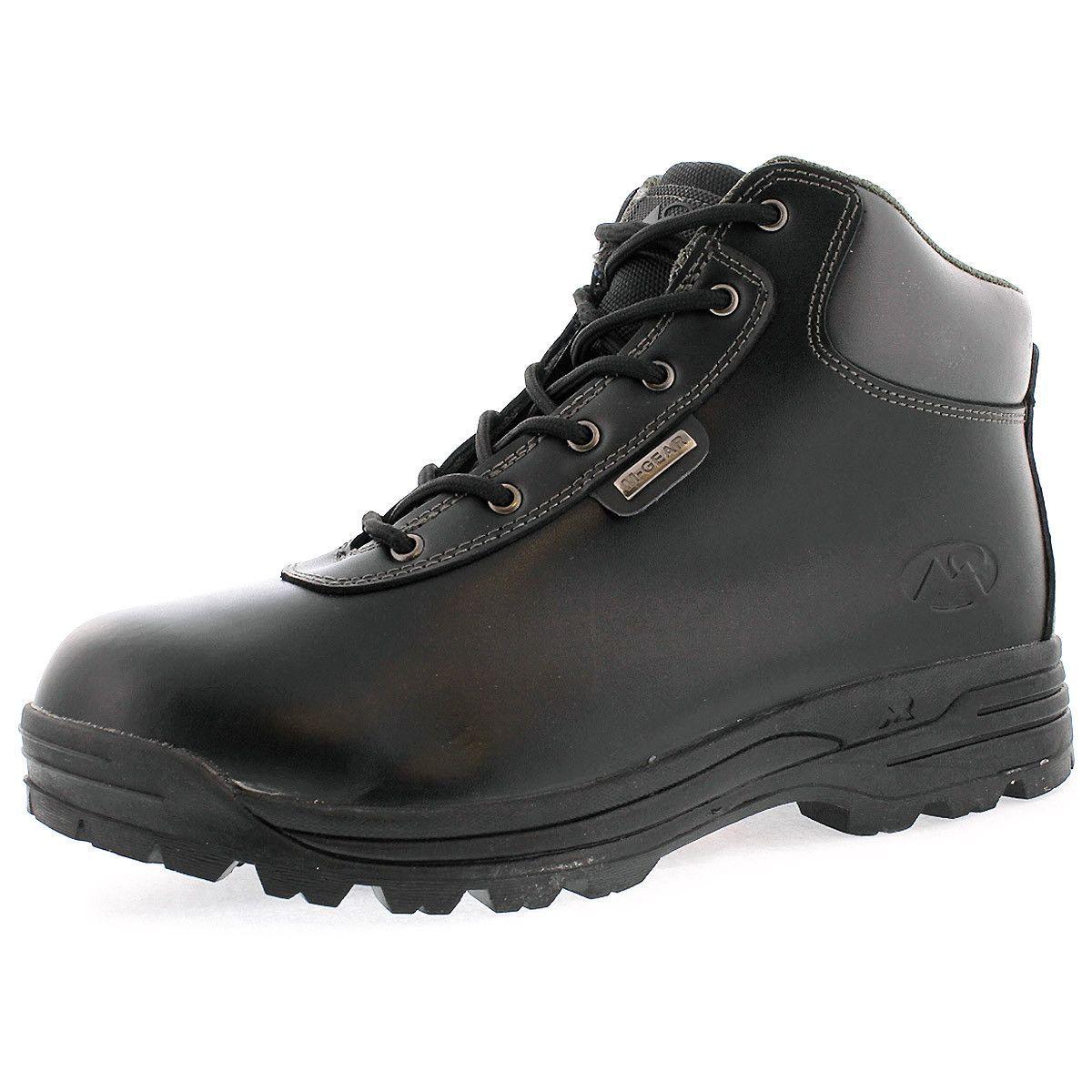 Mountain Gear - Men's 7001 LE 2 Plain Toe Boot - Black