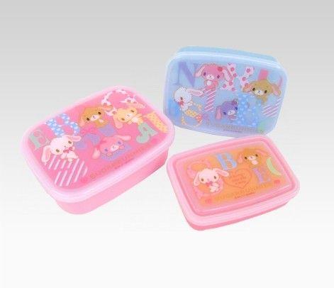 Sugarbunnies 3-Piece Lunch Case - Sanrio