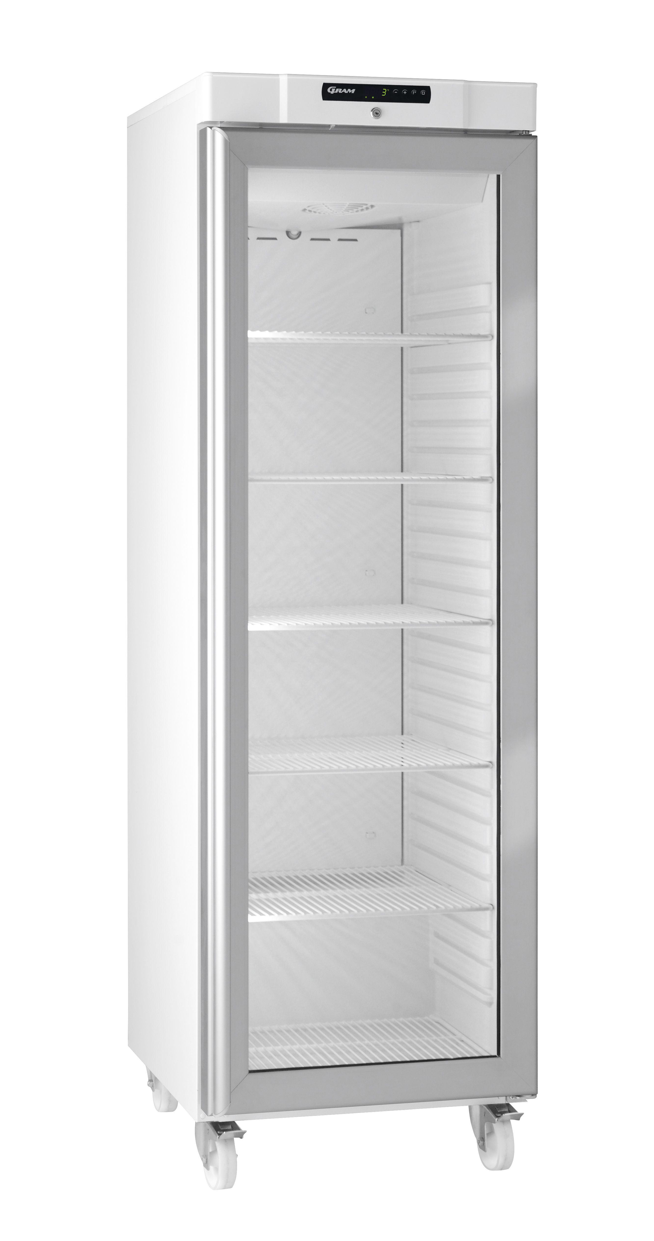 Gram Compact Kg 410 Lg C 6w Glass Door Fridge 346 Ltr F366