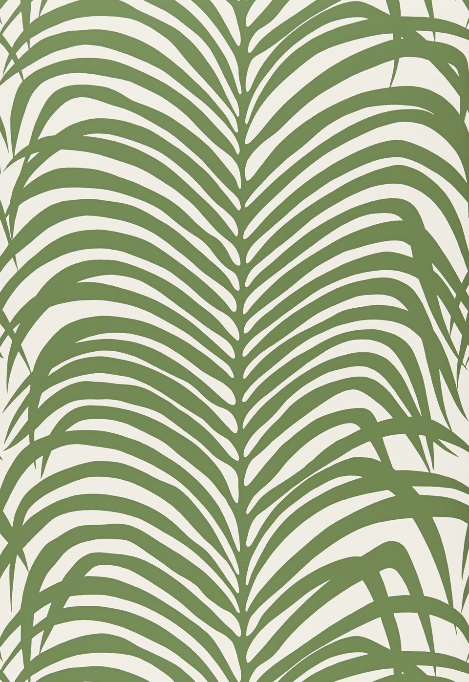 Powder room? Wallcovering / Wallpaper | Zebra Palm in Jungle ...