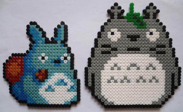 Totoro hama perler