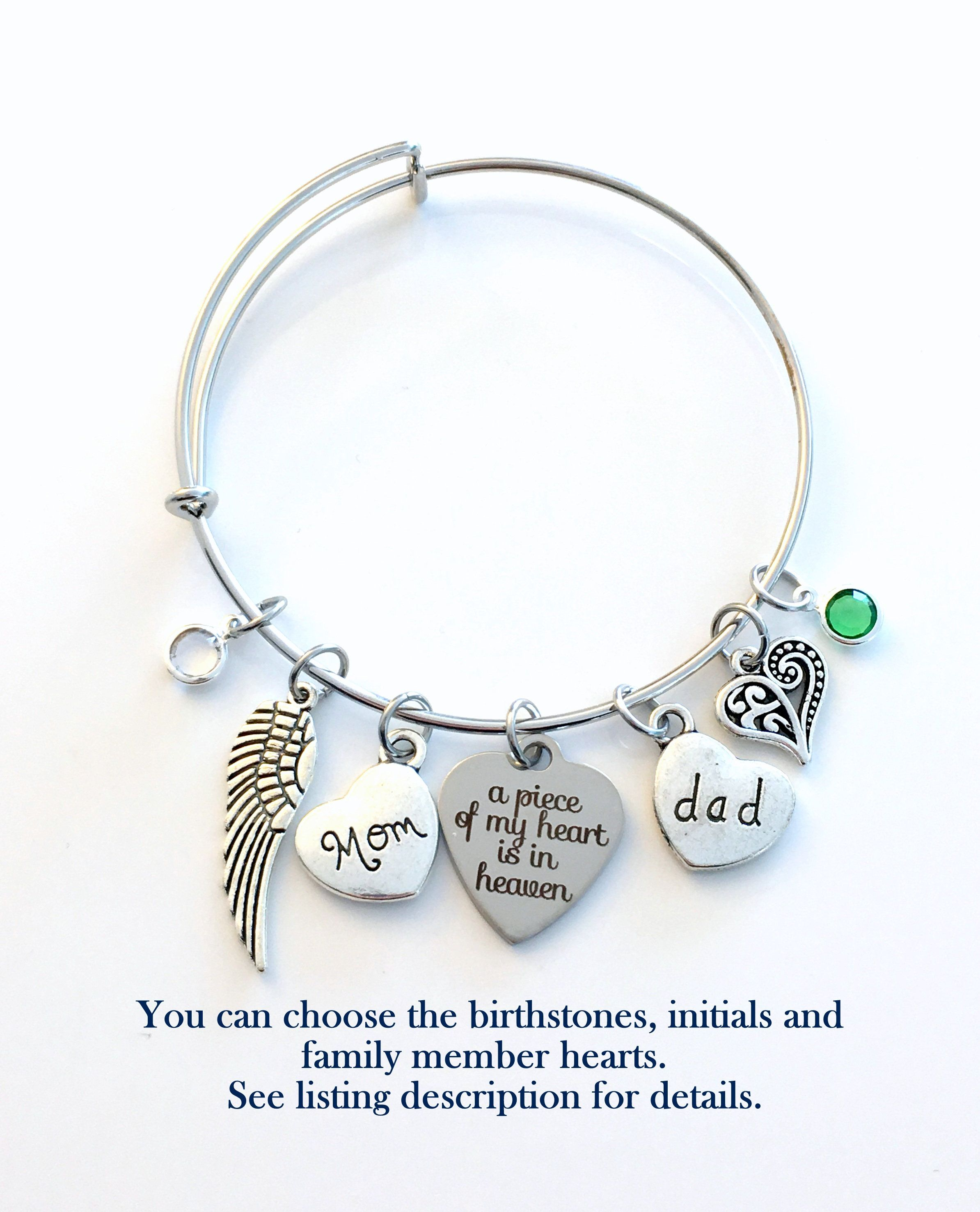 Charm Bracelets Kind-Hearted Mom Bracelet Mothers Day Gifts I Used To Be Her Angel Now Shes Mine Love Beads Charm Chain Family Female