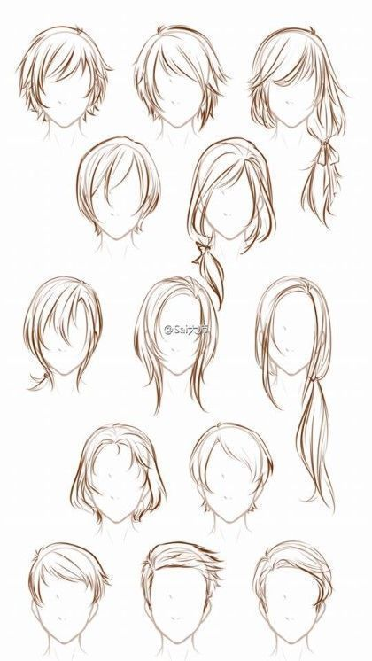 Photo of Hairstyles 2 by TapSpring-352 on deviantART