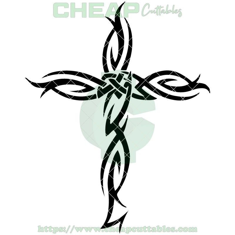 pin on crosses cutting files  pinterest