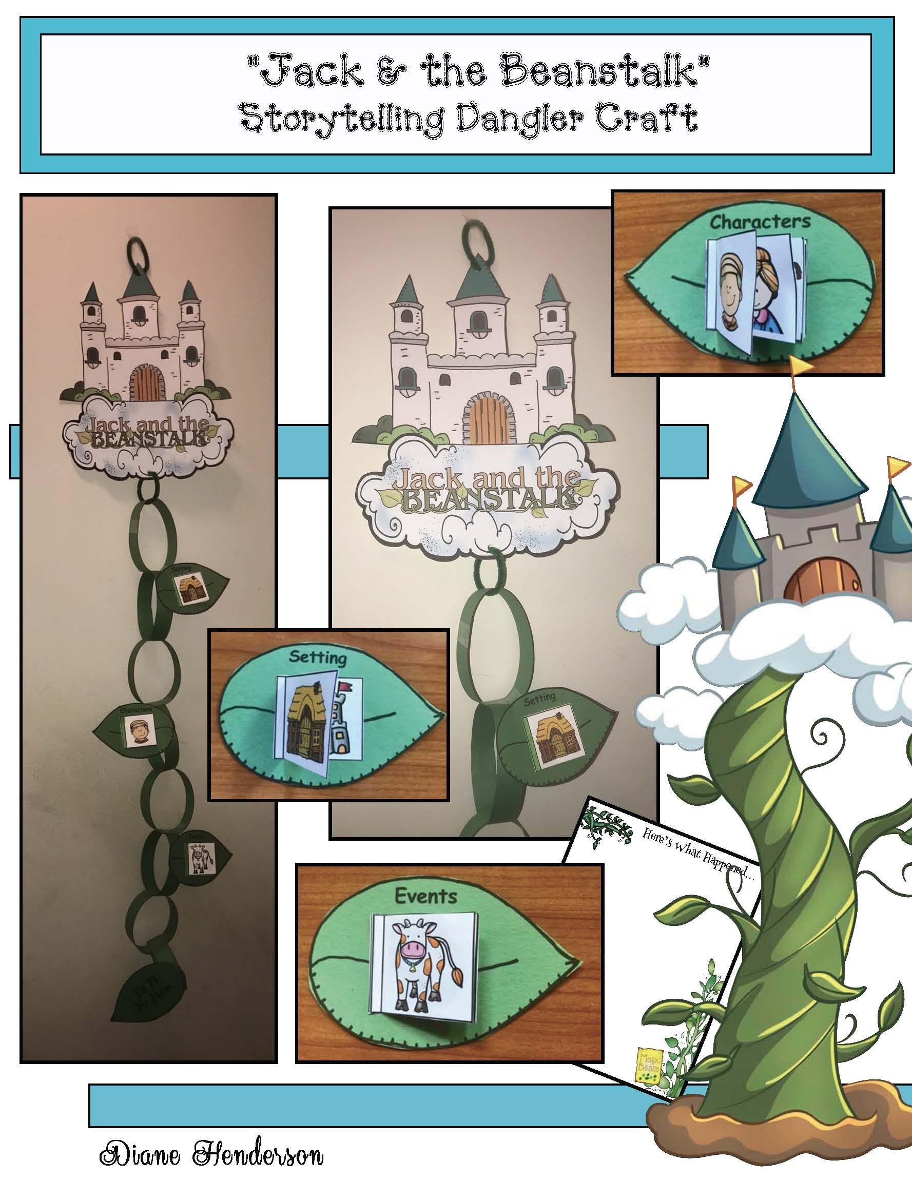 Jack And The Beanstalk Storytelling Craft