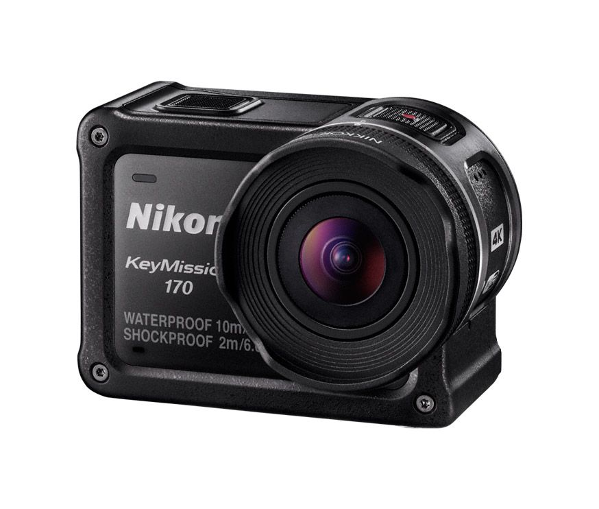 Nikon lança KeyMission 170, concorrente direta da GoPro