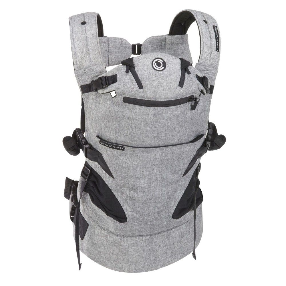 Contours Journey 5-in-1 Baby Carrier- Gray | Contour ...