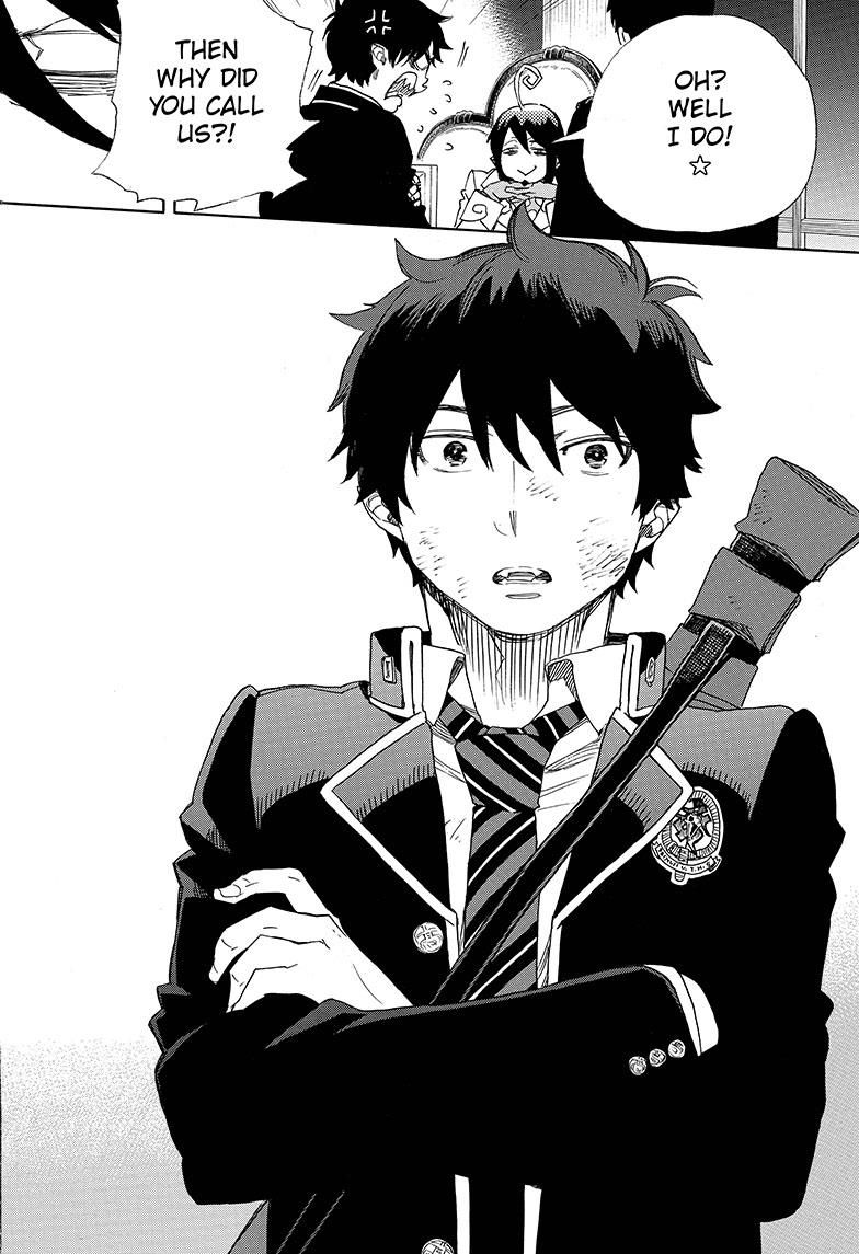 manga blue exorcist