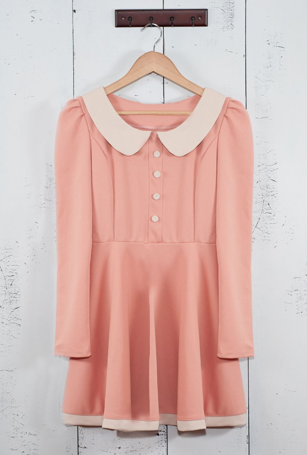 20++ Pink dress peter pan collar information