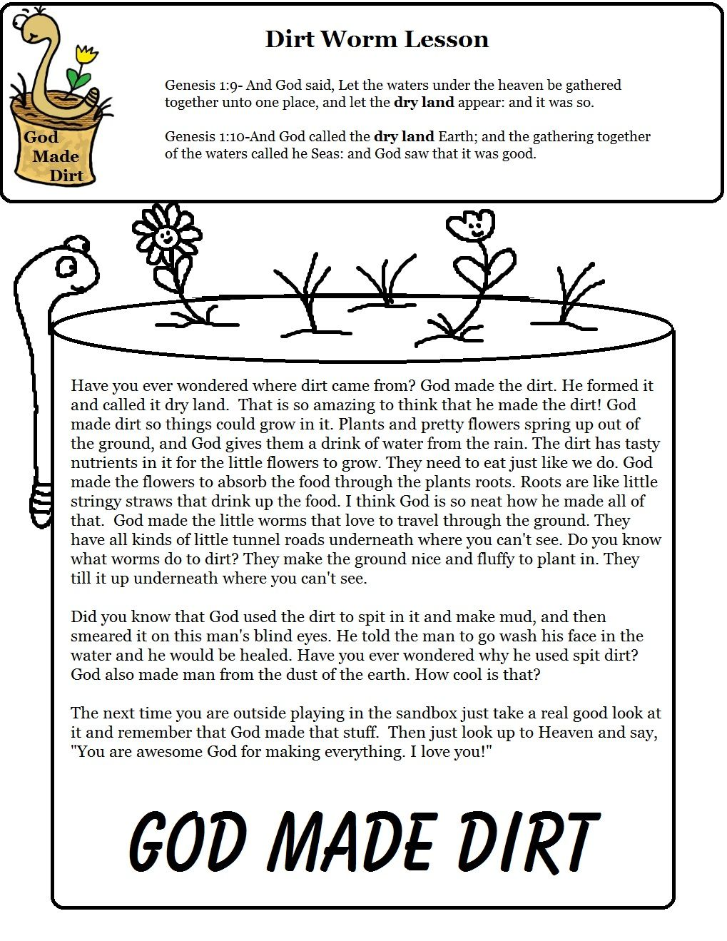 Pin by Special Nature on To make | School lessons, Bible lessons for