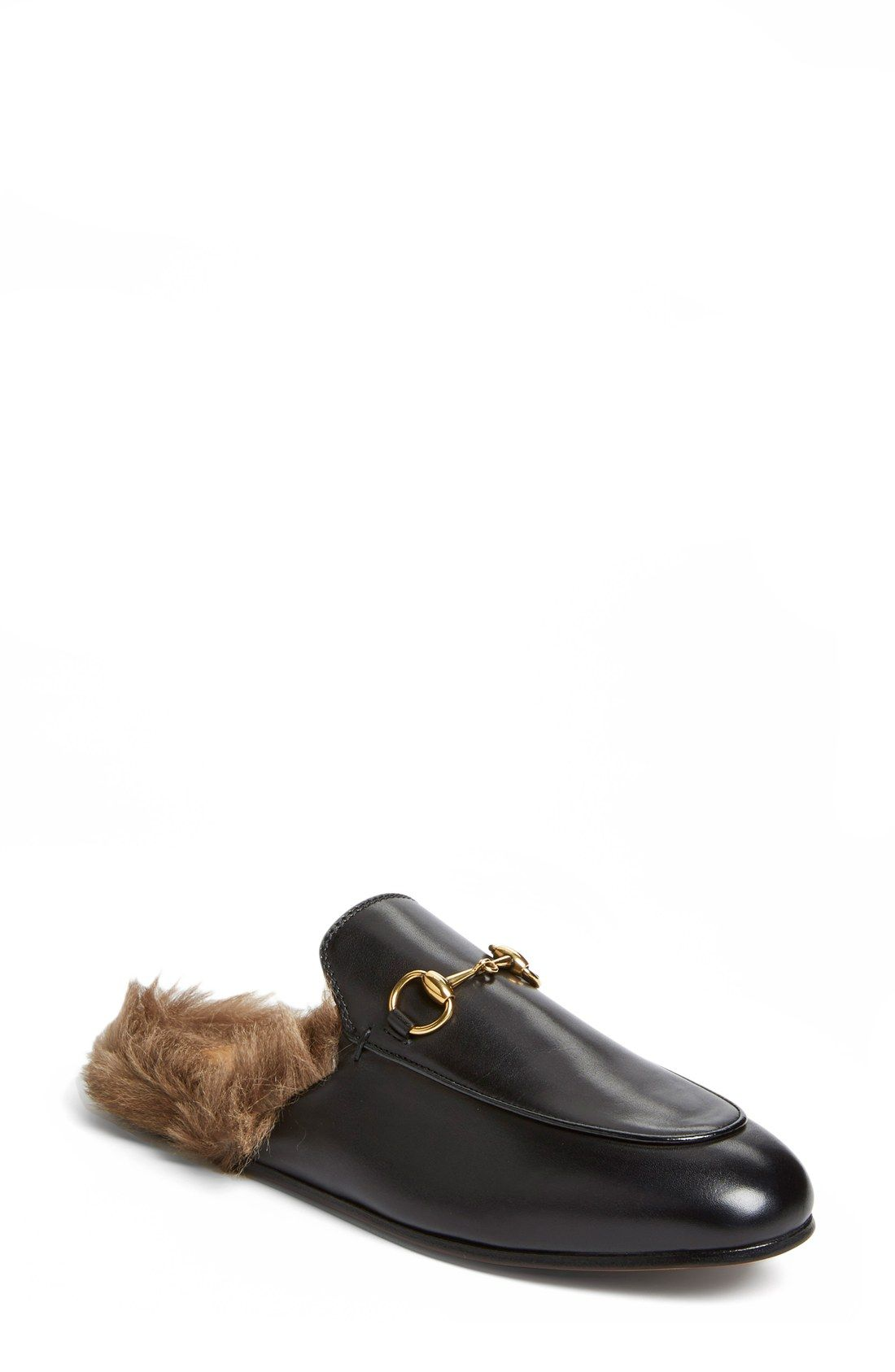Gucci 'Princetown' Slip-On Loafer (Women)