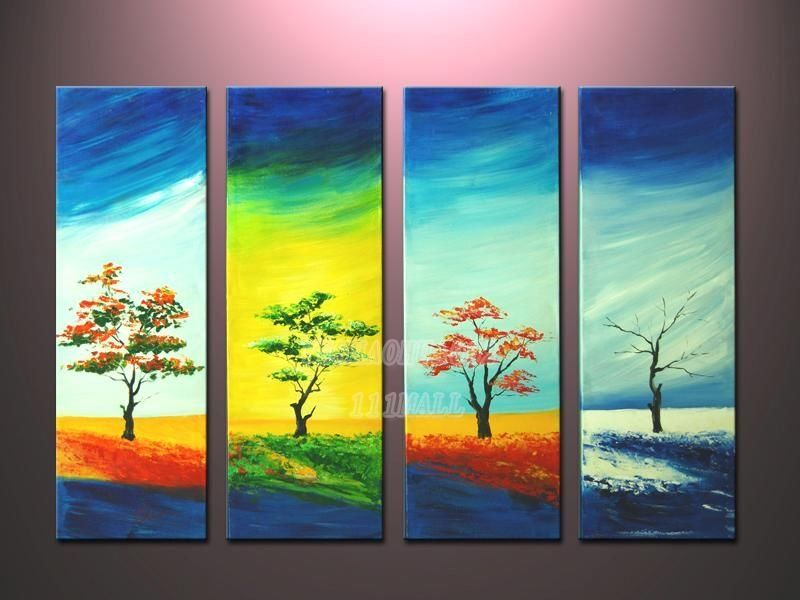 Modern Abstract Huge Wall Art Oil Painting On Canvas No Framed