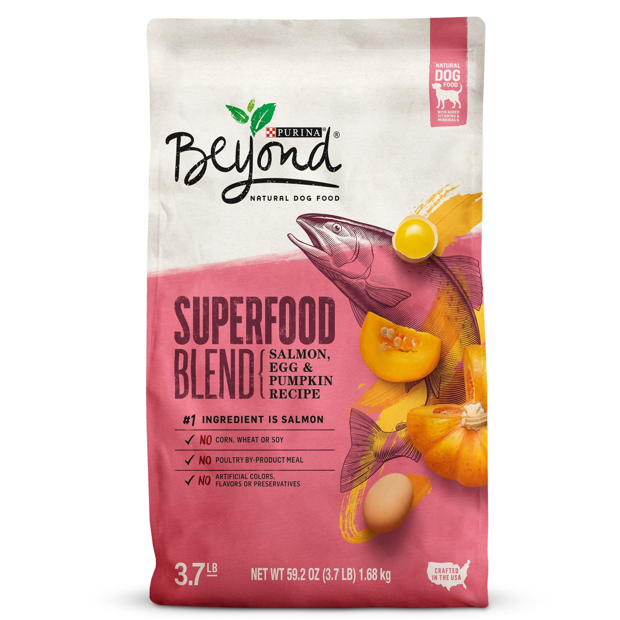 Purina Beyond Superfood Blend Salmon Egg And Pumpkin Recipe