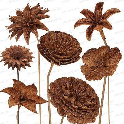 tuteur fleur deco en fer brut tige 8mm compositions florales tiges et brut. Black Bedroom Furniture Sets. Home Design Ideas